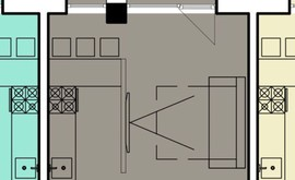 Фото 1: Студия комн. квартира, 31.1 м², 8/2 эт. - Рост Недвижимость