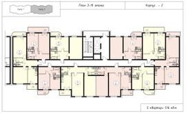 Фото 1: 2 комн. квартира, 61.1 м², 18/8 эт. - Рост Недвижимость
